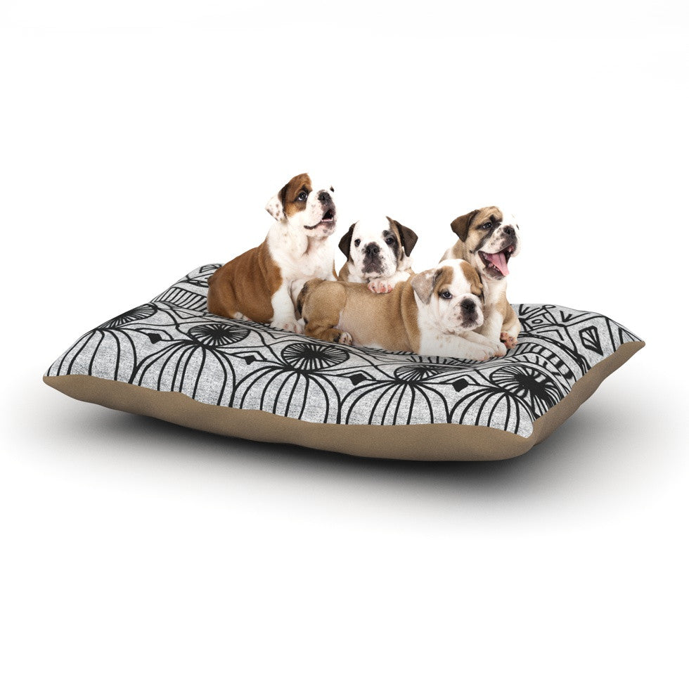 "Catherine Holcombe ""Blanket of Confusion"" Dog Bed - KESS InHouse  - 1"