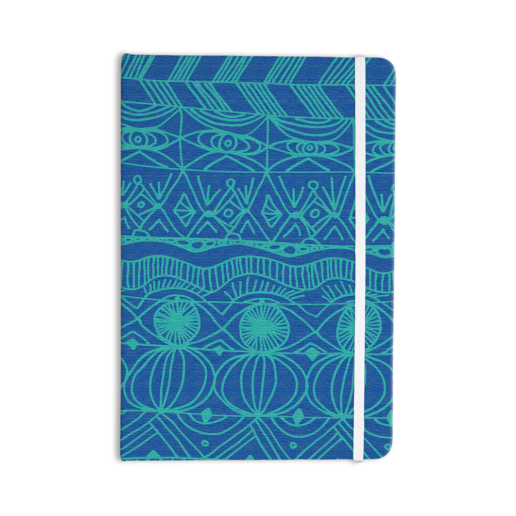 "Catherine Holcombe ""Beach Blanket Confusion"" Everything Notebook - KESS InHouse  - 1"