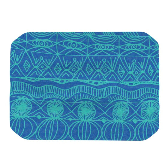 "Catherine Holcombe ""Beach Blanket Confusion"" Place Mat - KESS InHouse"