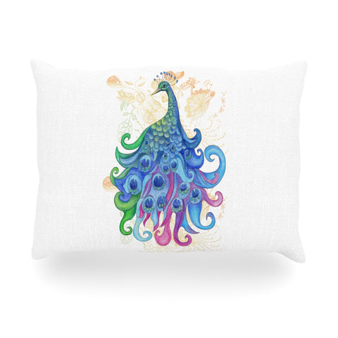 "Catherine Holcombe ""Peace"" Oblong Pillow - KESS InHouse"