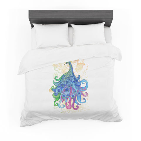 "Catherine Holcombe ""Peace"" Featherweight Duvet Cover"