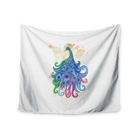 "Catherine Holcombe ""Peace"" Wall Tapestry - KESS InHouse  - 1"