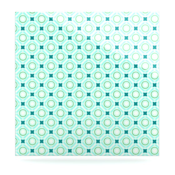 "Catherine McDonald""Tossing Pennies I"" Luxe Square Panel - KESS InHouse  - 1"