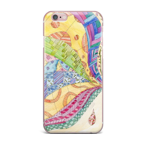 "Catherine Holcombe ""The Painted Quilt"" iPhone Case - KESS InHouse"