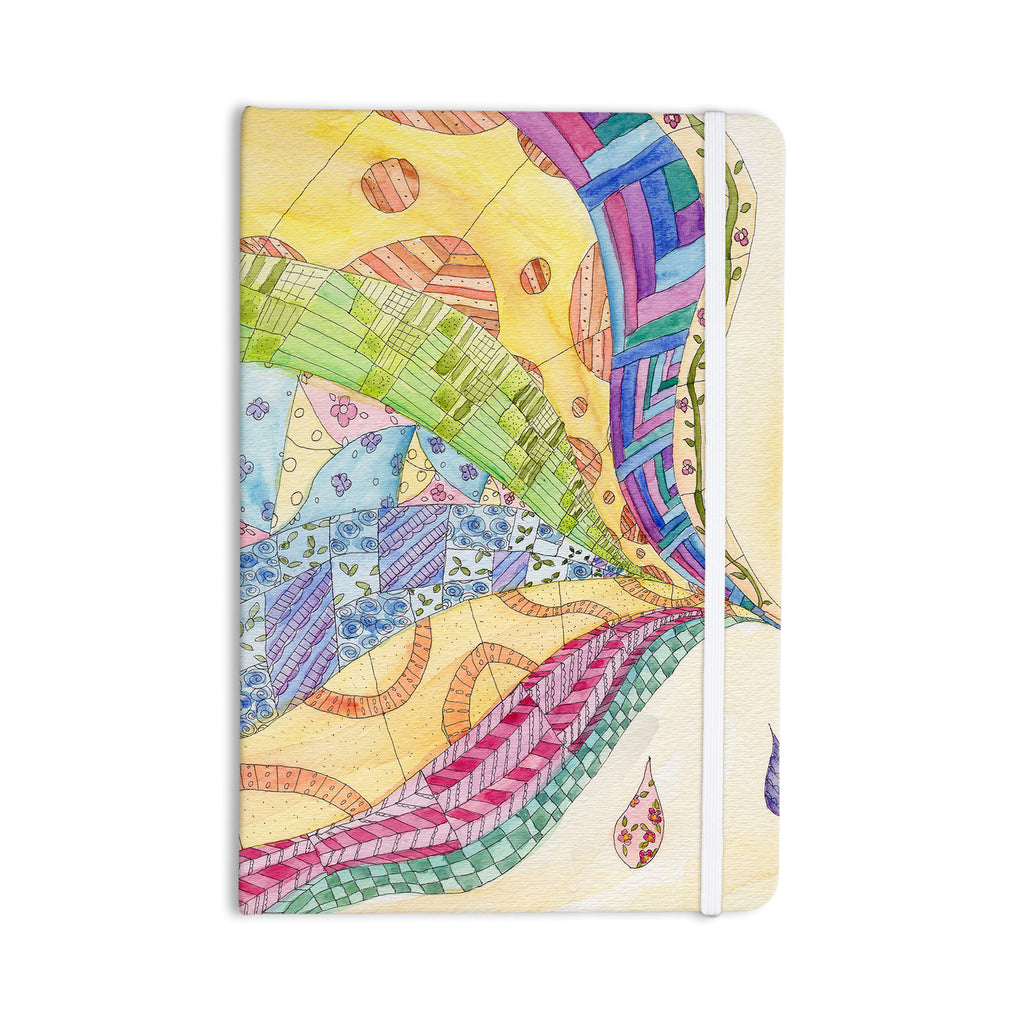 "Catherine Holcombe ""The Painted Quilt"" Everything Notebook - KESS InHouse  - 1"
