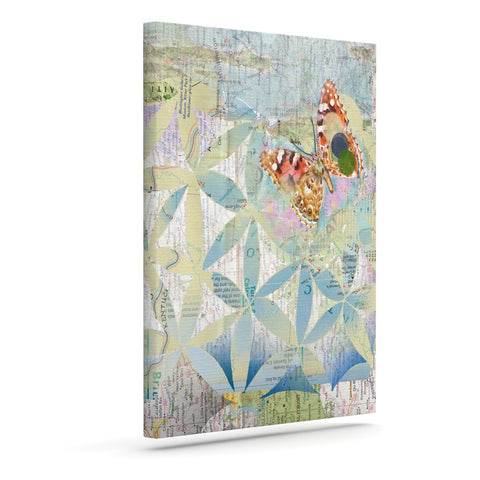 "Catherine Holcombe ""Miraculous Recovery"" Butterfly Outdoor Canvas Wall Art - KESS InHouse  - 1"