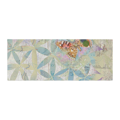 "Catherine Holcombe ""Miraculous Recovery"" Butterfly Bed Runner - KESS InHouse"