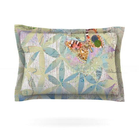 "Catherine Holcombe ""Miraculous Recovery"" Butterfly Pillow Sham - Outlet Item"