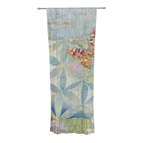 "Catherine Holcombe ""Miraculous Recovery"" Butterfly Decorative Sheer Curtain - KESS InHouse"