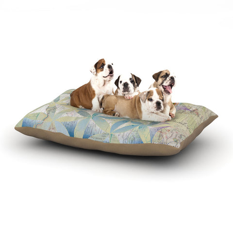 "Catherine Holcombe ""Miraculous Recovery"" Butterfly Dog Bed - KESS InHouse  - 1"
