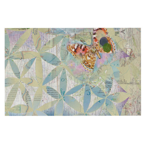 "Catherine Holcombe ""Miraculous Recovery"" Butterfly Decorative Door Mat - KESS InHouse"