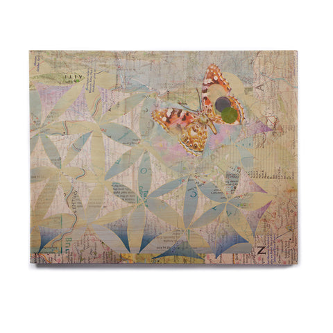 "Catherine Holcombe ""Miraculous Recovery"" Butterfly Birchwood Wall Art - KESS InHouse  - 1"