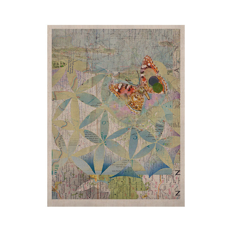 "Catherine Holcombe ""Miraculous Recovery"" Butterfly KESS Naturals Canvas (Frame not Included) - KESS InHouse  - 1"