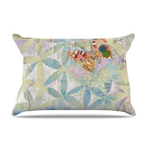"Catherine Holcombe ""Miraculous Recovery"" Butterfly Pillow Sham - KESS InHouse"