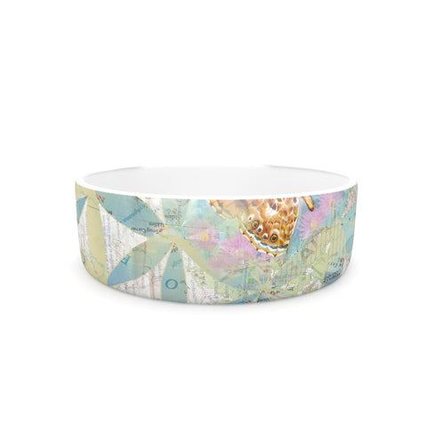 "Catherine Holcombe ""Miraculous Recovery"" Butterfly Pet Bowl - KESS InHouse"