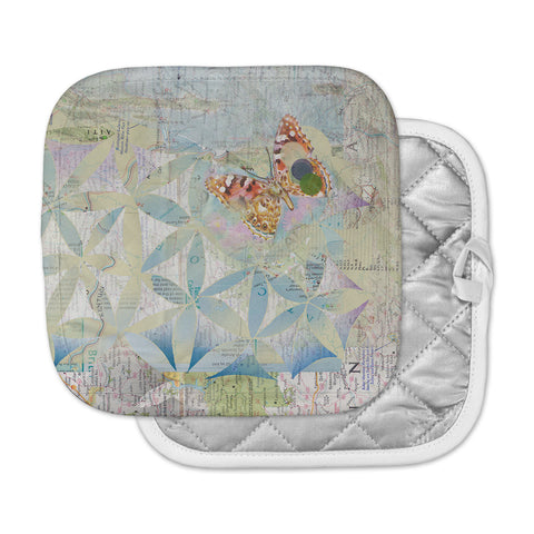 "Catherine Holcombe ""Miraculous Recovery"" Butterfly Pot Holder"