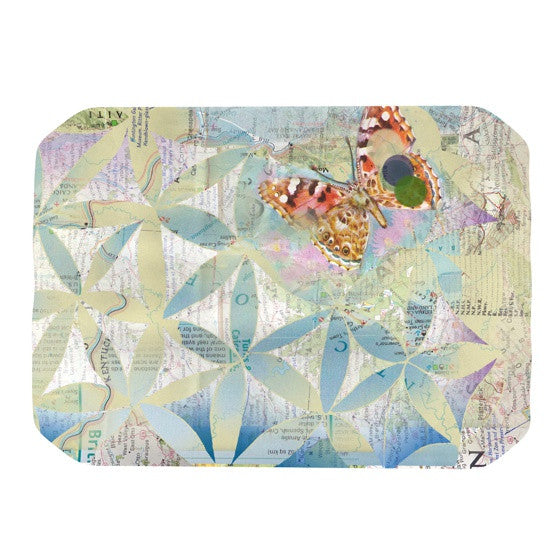 "Catherine Holcombe ""Miraculous Recovery"" Butterfly Place Mat - KESS InHouse"