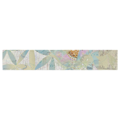 "Catherine Holcombe ""Miraculous Recovery"" Butterfly Table Runner - KESS InHouse  - 1"