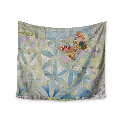 "Catherine Holcombe ""Miraculous Recovery"" Butterfly Wall Tapestry - KESS InHouse  - 1"