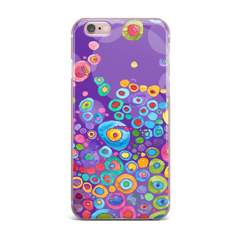 "Catherine Holcombe ""Inner Circle Purple"" Lavender iPhone Case - KESS InHouse"