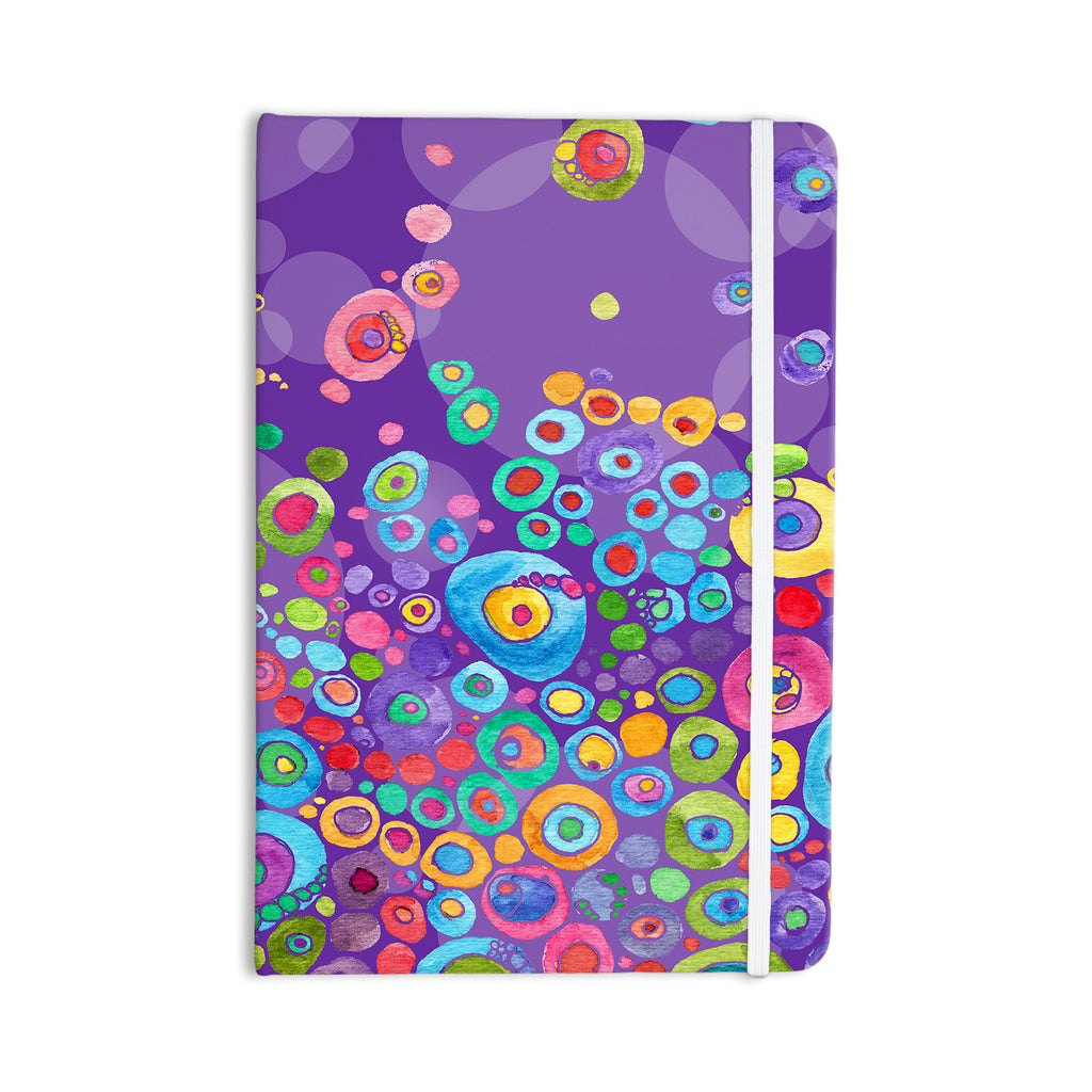 "Catherine Holcombe ""Inner Circle Purple"" Lavender Everything Notebook - KESS InHouse  - 1"