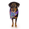 "Catherine Holcombe ""Inner Circle Purple"" Lavender Pet Bandana - Outlet Item"