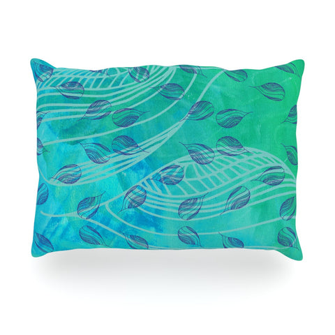 "Catherine Holcombe ""Sweet Summer Swim"" Oblong Pillow - KESS InHouse"