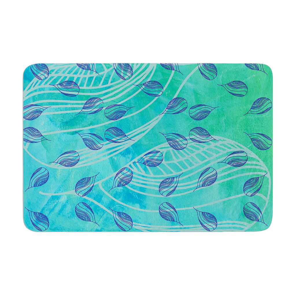 "Catherine Holcombe ""Sweet Summer Swim"" Memory Foam Bath Mat - KESS InHouse"