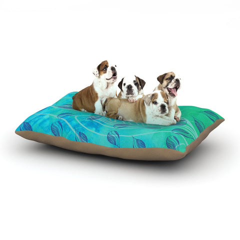 "Catherine Holcombe ""Sweet Summer Swim"" Dog Bed - KESS InHouse  - 1"