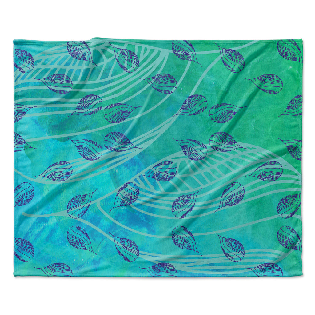 "Catherine Holcombe ""Sweet Summer Swim"" Fleece Throw Blanket"