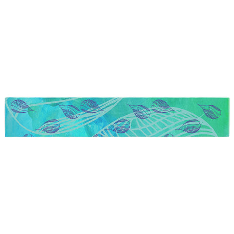 "Catherine Holcombe ""Sweet Summer Swim"" Table Runner - KESS InHouse  - 1"