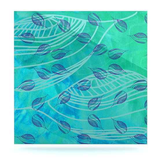 "Catherine Holcombe ""Sweet Summer Swim"" Luxe Square Panel - KESS InHouse  - 1"