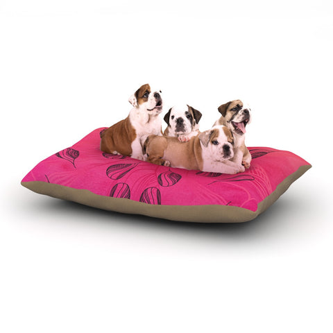 "Catherine Holcombe ""Summer Sunset"" Dog Bed - KESS InHouse  - 1"