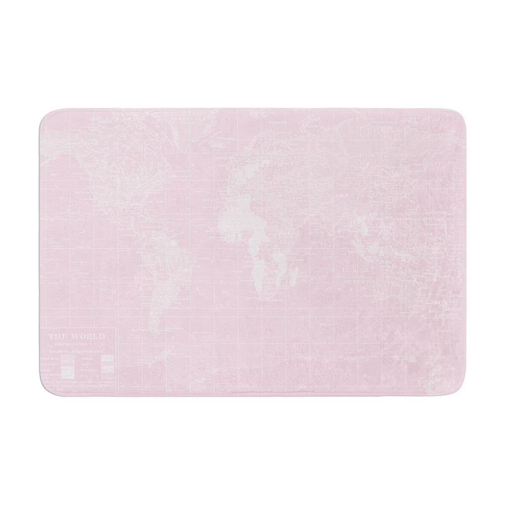 "Catherine Holcombe ""Her World"" Memory Foam Bath Mat - KESS InHouse"