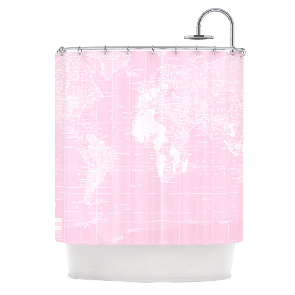 "Catherine Holcombe ""Her World"" Shower Curtain - KESS InHouse"