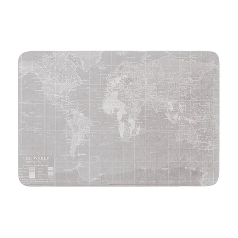"Catherine Holcombe ""The Olde World"" Memory Foam Bath Mat - KESS InHouse"