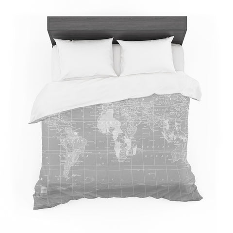"Catherine Holcombe ""The Olde World"" Featherweight Duvet Cover"