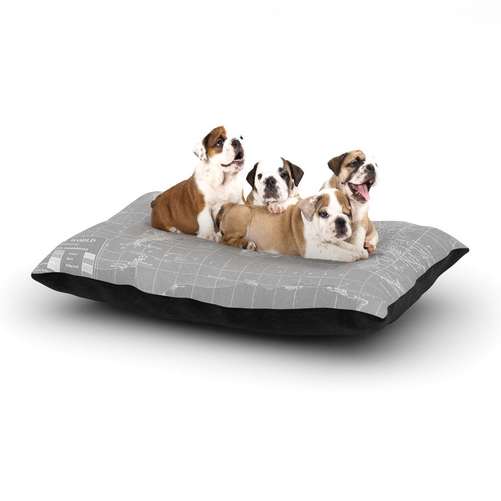 "Catherine Holcombe ""The Olde World"" Dog Bed - KESS InHouse  - 1"
