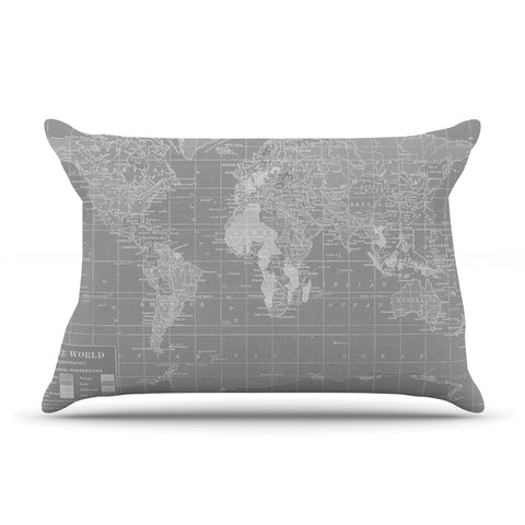 "Catherine Holcombe ""The Olde World"" Pillow Sham - KESS InHouse"