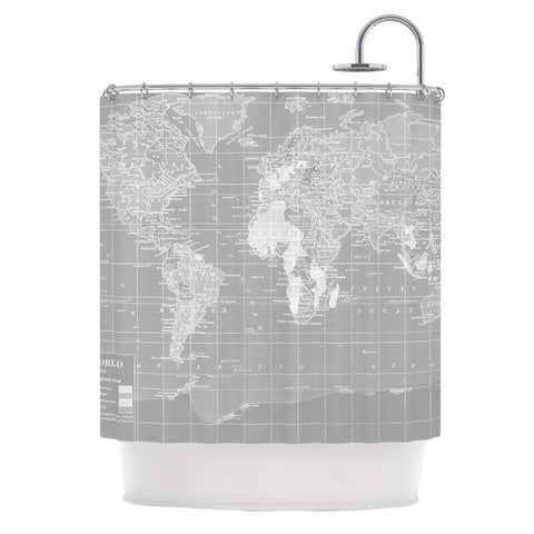 "Catherine Holcombe ""The Olde World"" Shower Curtain - KESS InHouse"