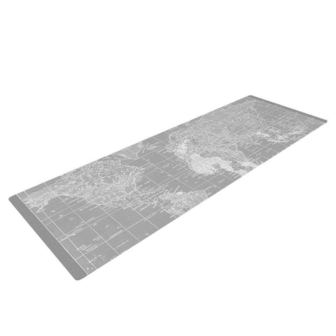"Catherine Holcombe ""The Olde World"" Yoga Mat - KESS InHouse  - 1"