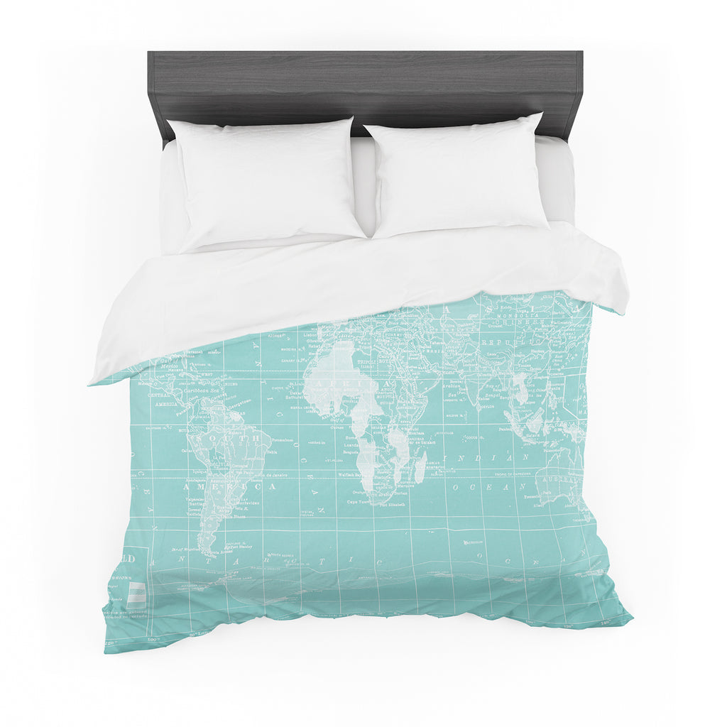 "Catherine Holcombe ""Welcome to my World"" Featherweight Duvet Cover"