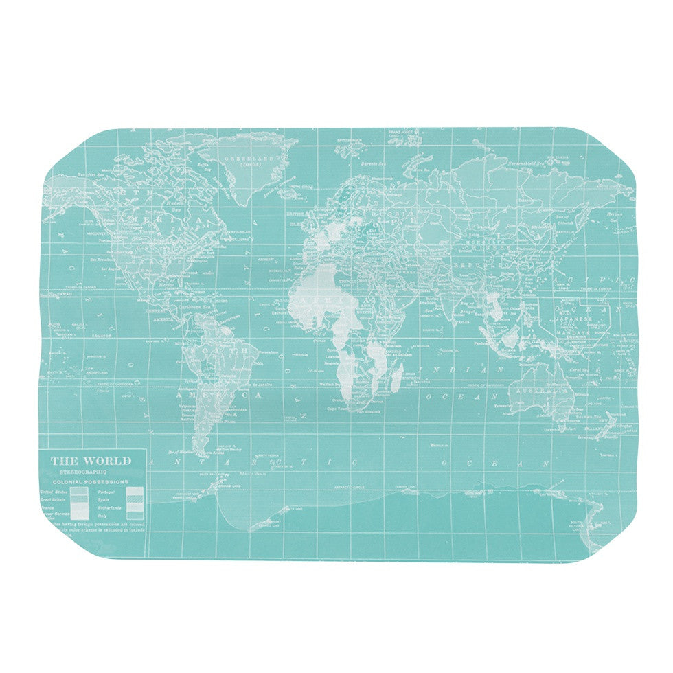"Catherine Holcombe ""Welcome to my World"" Place Mat - KESS InHouse"