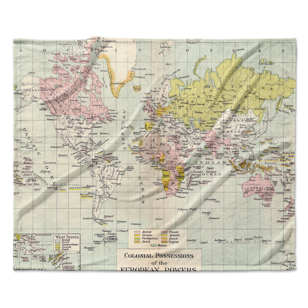 Travel fleece blanket by catherine holcombe kess inhouse catherine holcombe travel world map fleece throw blanket gumiabroncs Images