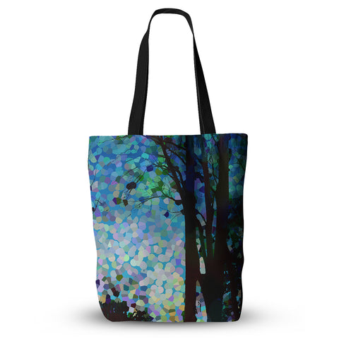 "Catherine Holcombe ""Blue Raspberry Jellybean"" Blue Geometric Everything Tote Bag - Outlet Item"