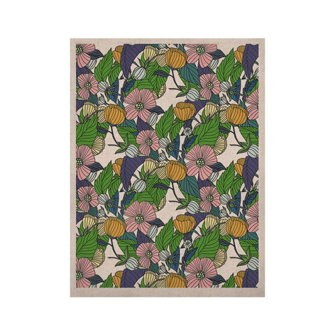 "Catherine Holcombe ""Spring Foliage"" Floral Pastels KESS Naturals Canvas (Frame not Included) - KESS InHouse  - 1"