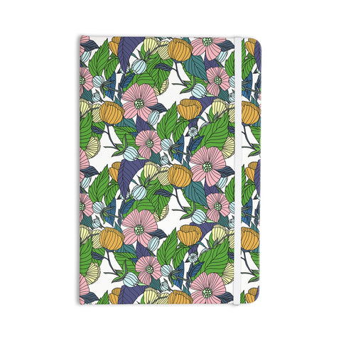 "Catherine Holcombe ""Spring Foliage"" Floral Pastels Everything Notebook - KESS InHouse  - 1"