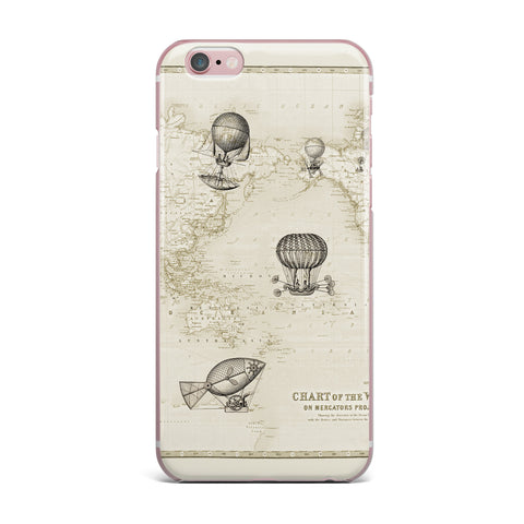 "Catherine Holcombe ""The Southern Route"" Brown White iPhone Case - KESS InHouse"