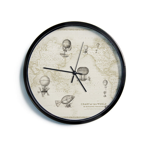 "Catherine Holcombe ""The Southern Route""  Modern Wall Clock"