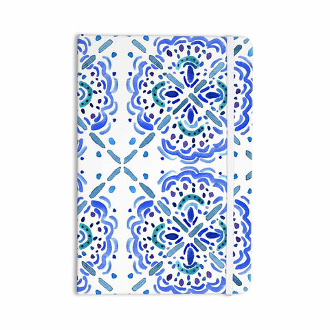 "Catherine Holcombe ""Amalifi Coast"" Blue White Painting Everything Notebook"